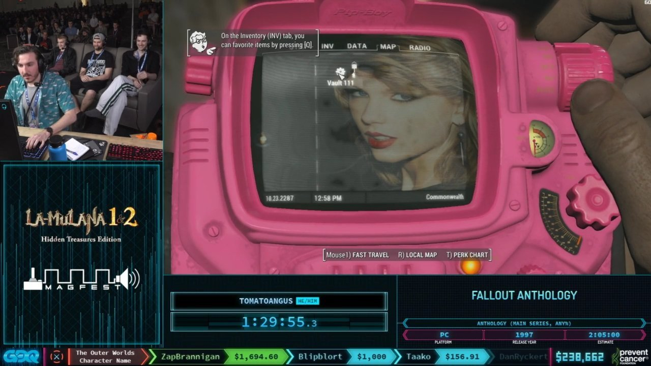 Pink Pipboy Mod in Fallout 4