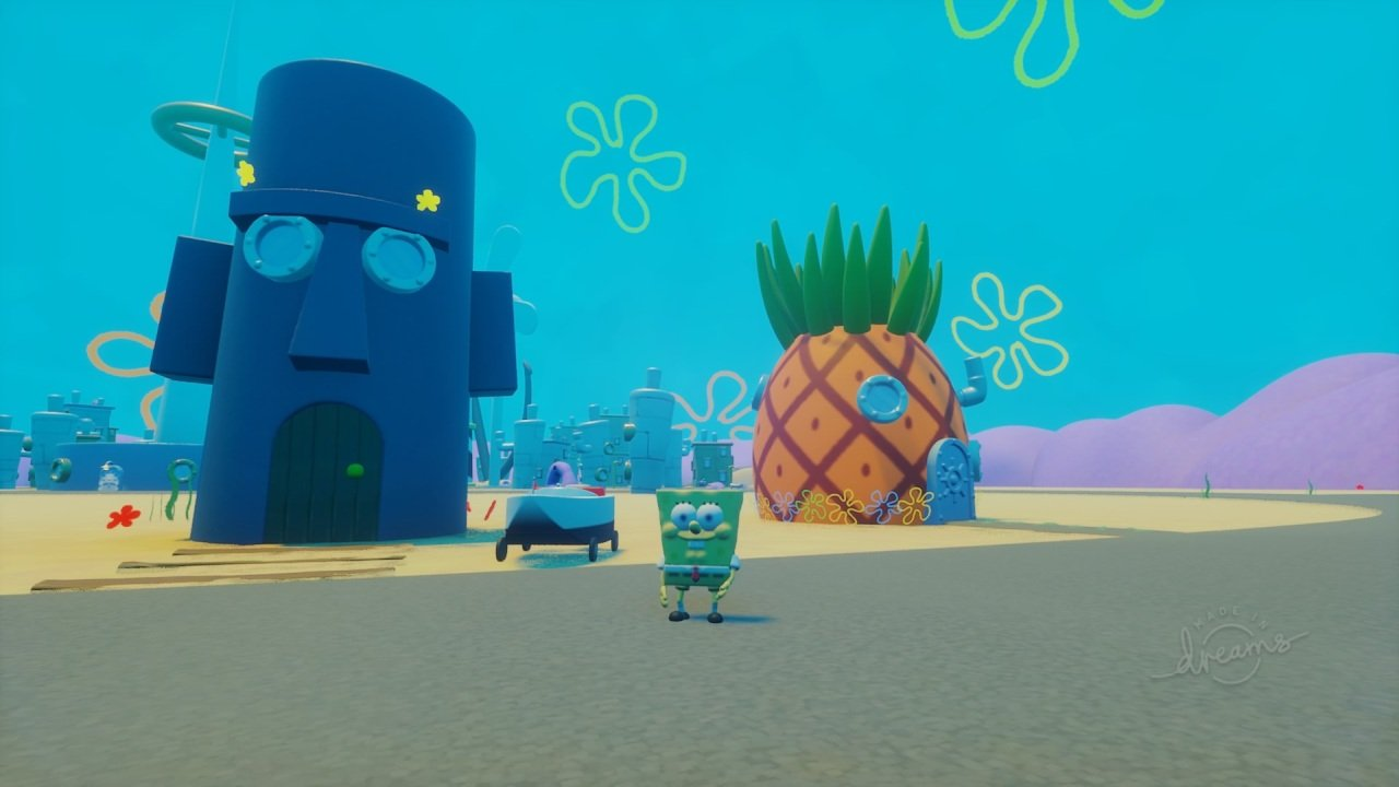 Spongebob in Dreams