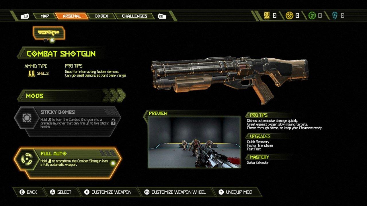 Shotgun Upgrades
