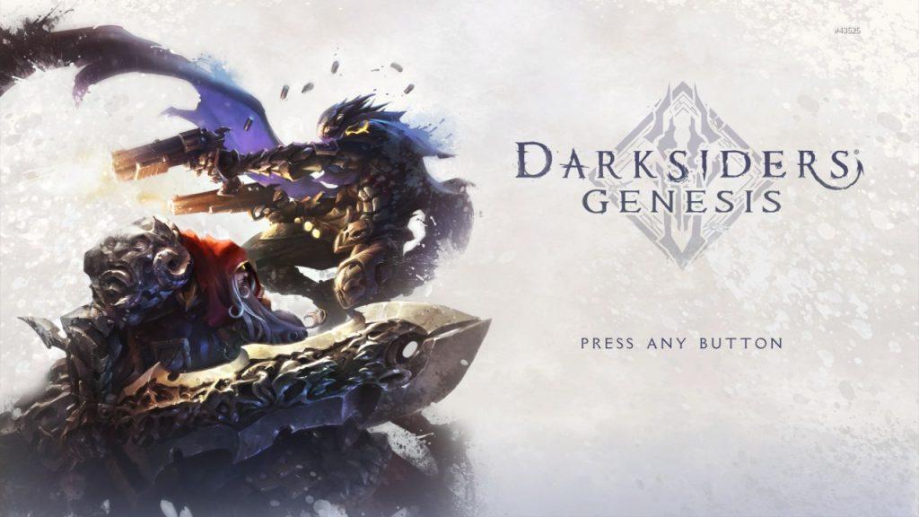 Darksiders Genesis Title