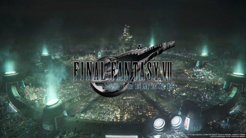 Final Fantasy VII Remake Title