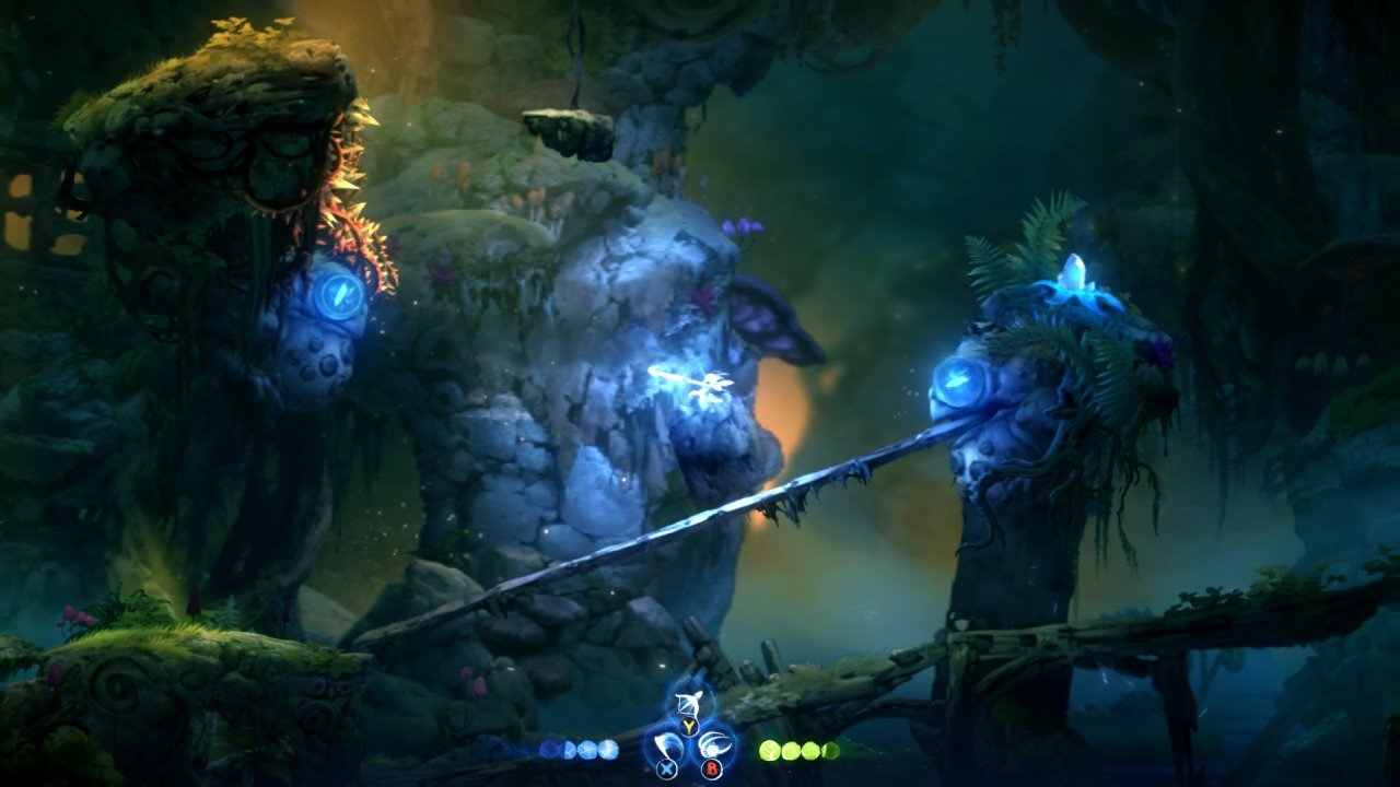 Platforming in Ori and the Will of the Wisps