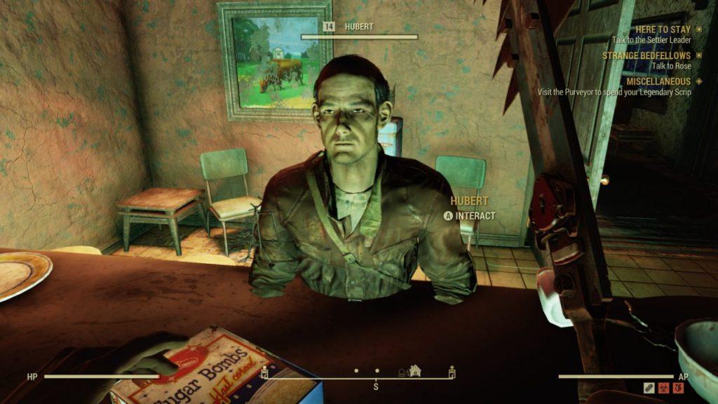 Hubert Stuck Fallout 76