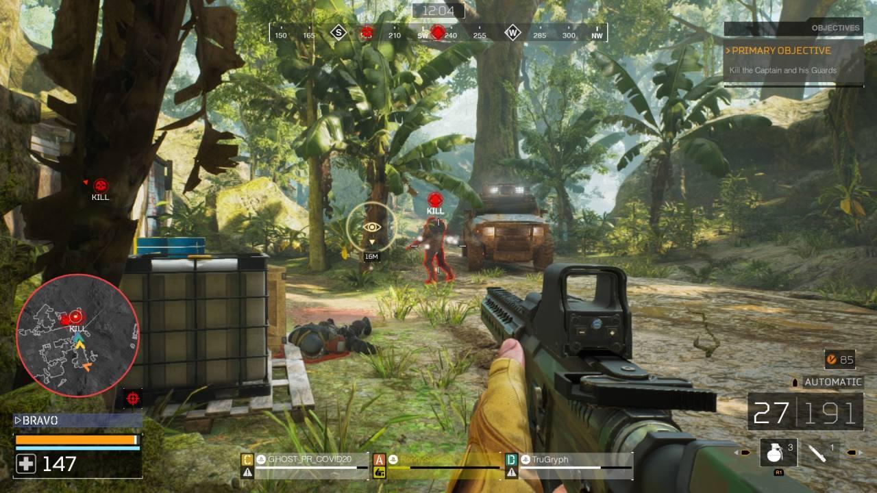 Predator Hunting Grounds Fireteam Gameplay