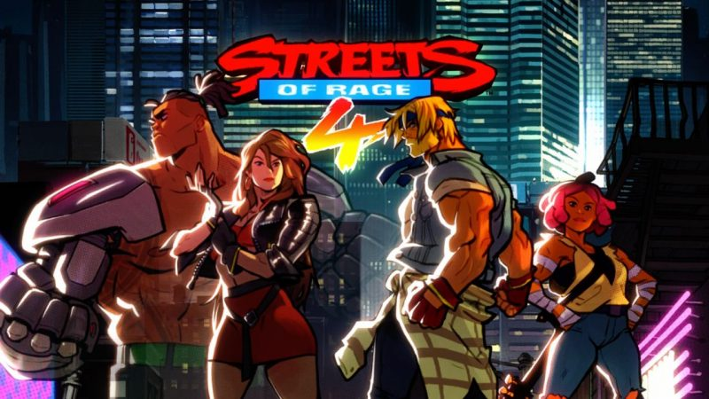 Streets of Rage 4 Main Characters