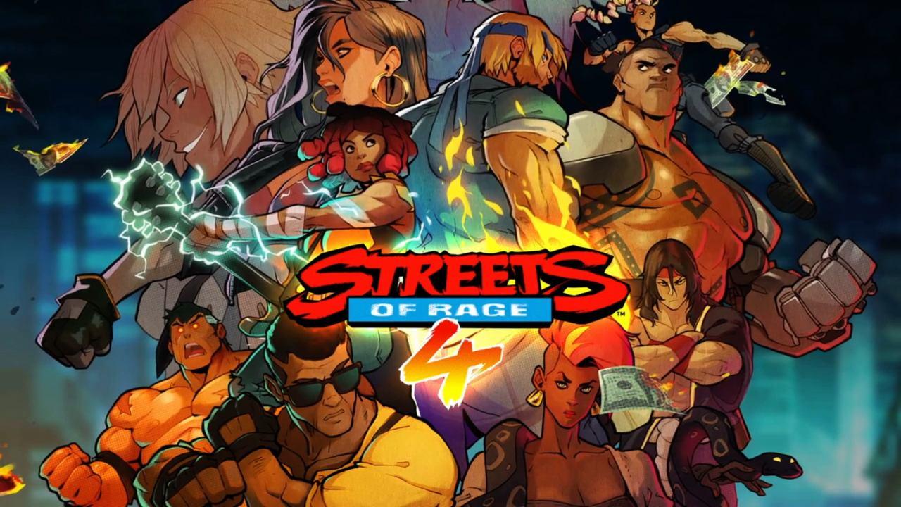 Streets of Rage 4 Main Menu