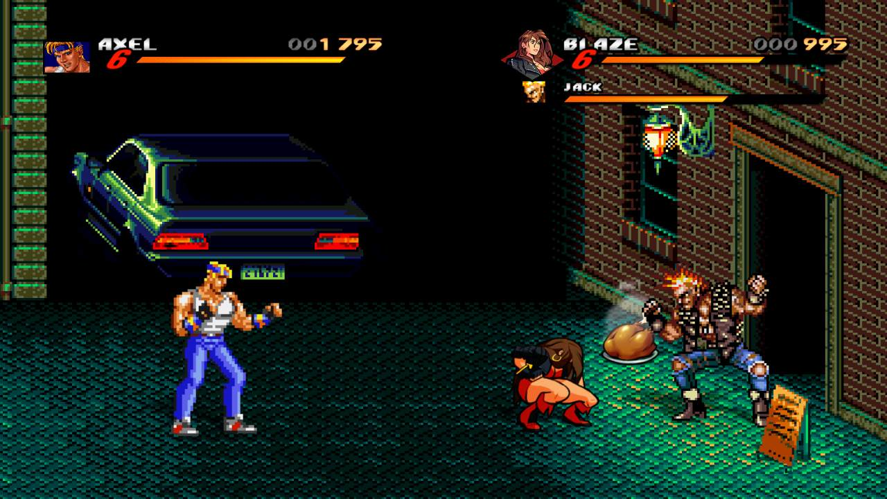 Streets of Rage 2 Level