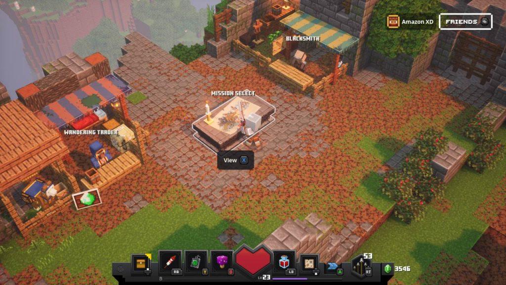 Camp Minecraft Dungeons