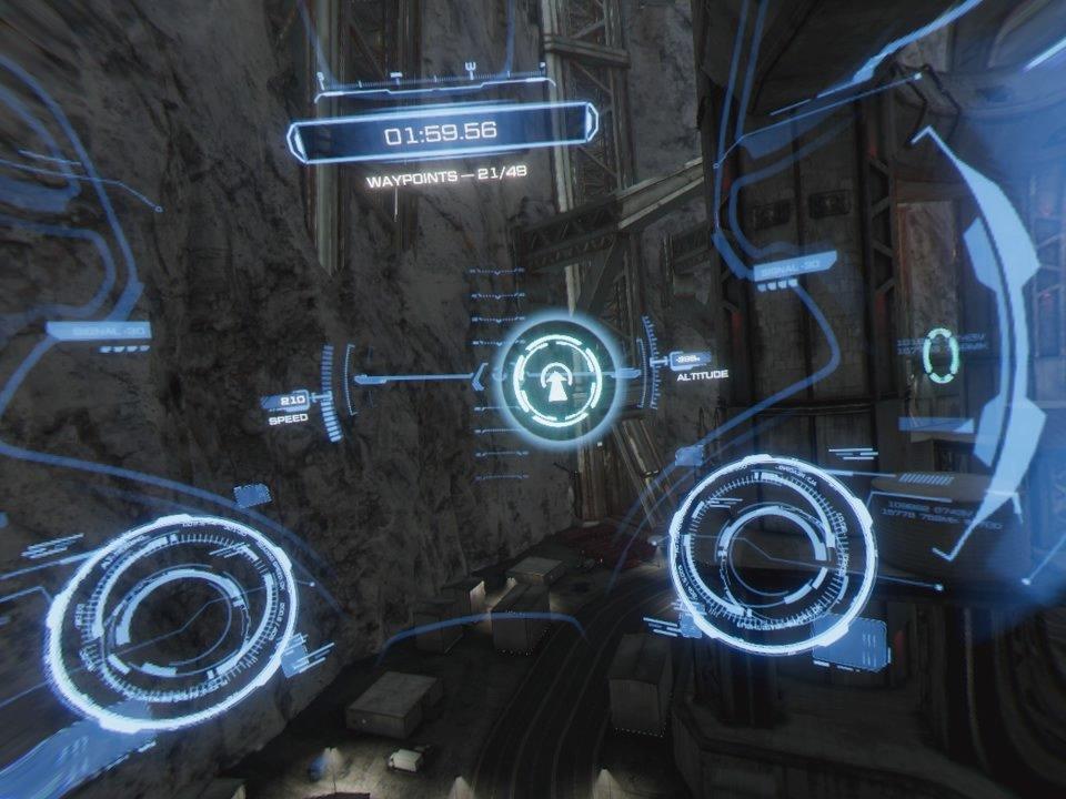 Flight Challenge in Iron Man VR
