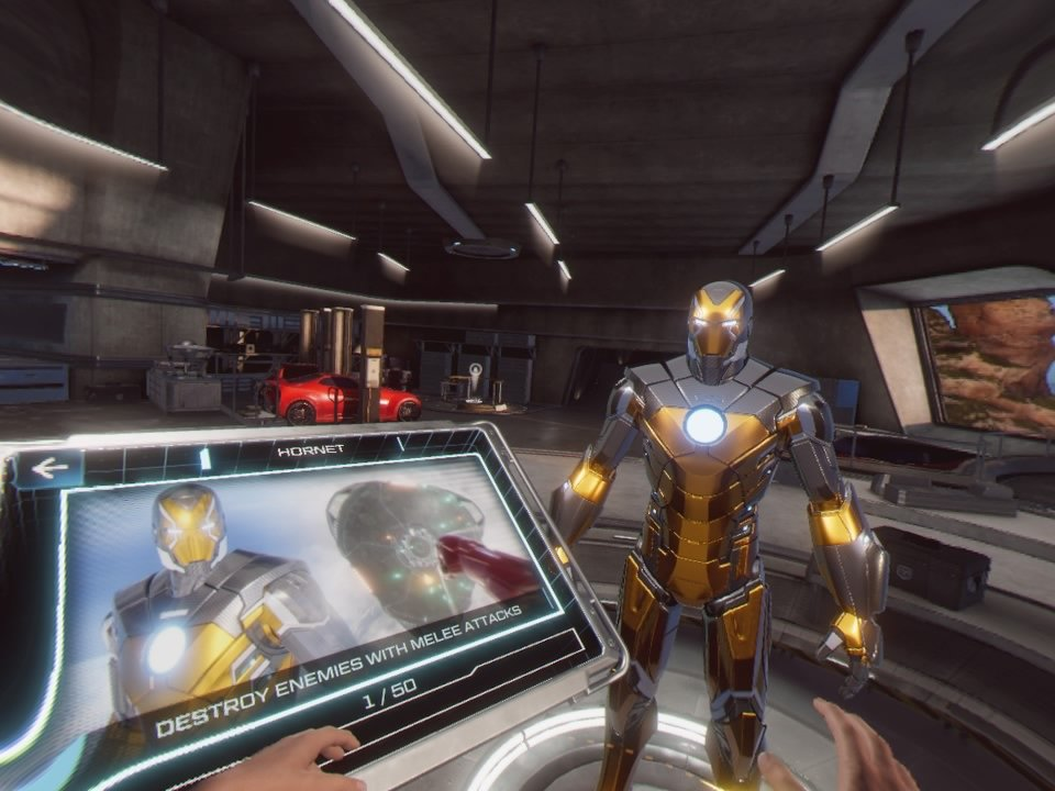 Customizable Suit Options in Iron Man VR