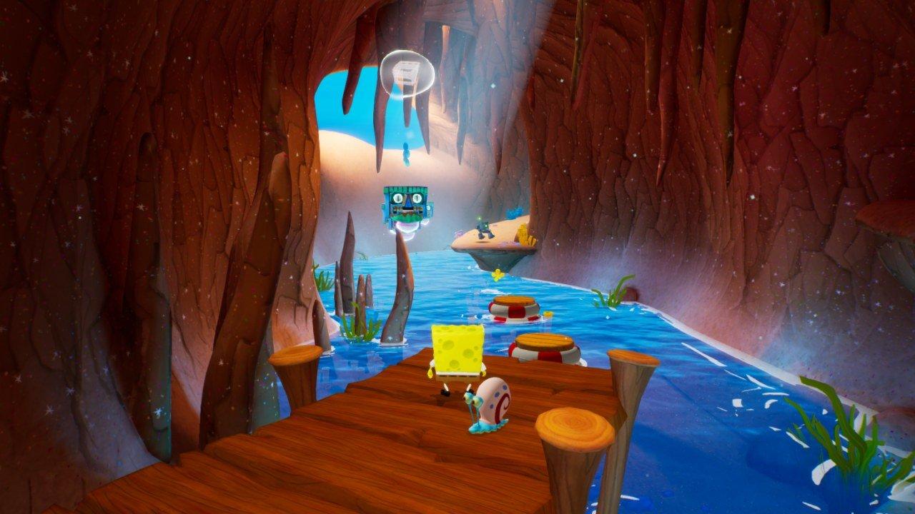 Spongebob Rehydrated Cave