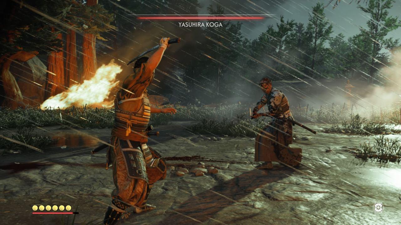 Ghost of Tsushima Samurai Duel