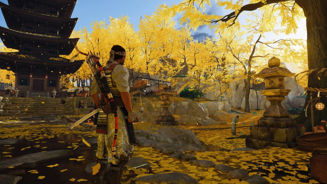 Ghost of Tsushima Golden Temple