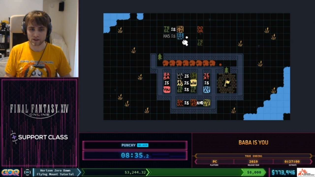 SGDQ 2020 Baba is You