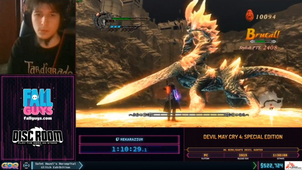 SGDQ 2020 Devil May Cry 4