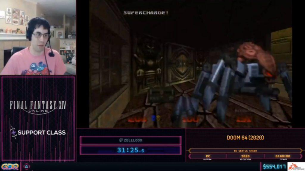 SGDQ 2020 Doom 64