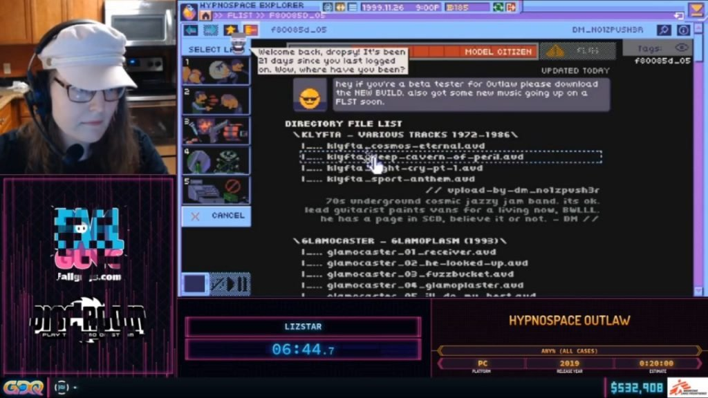 SGDQ 2020 Hynpospace Outlaw World Record
