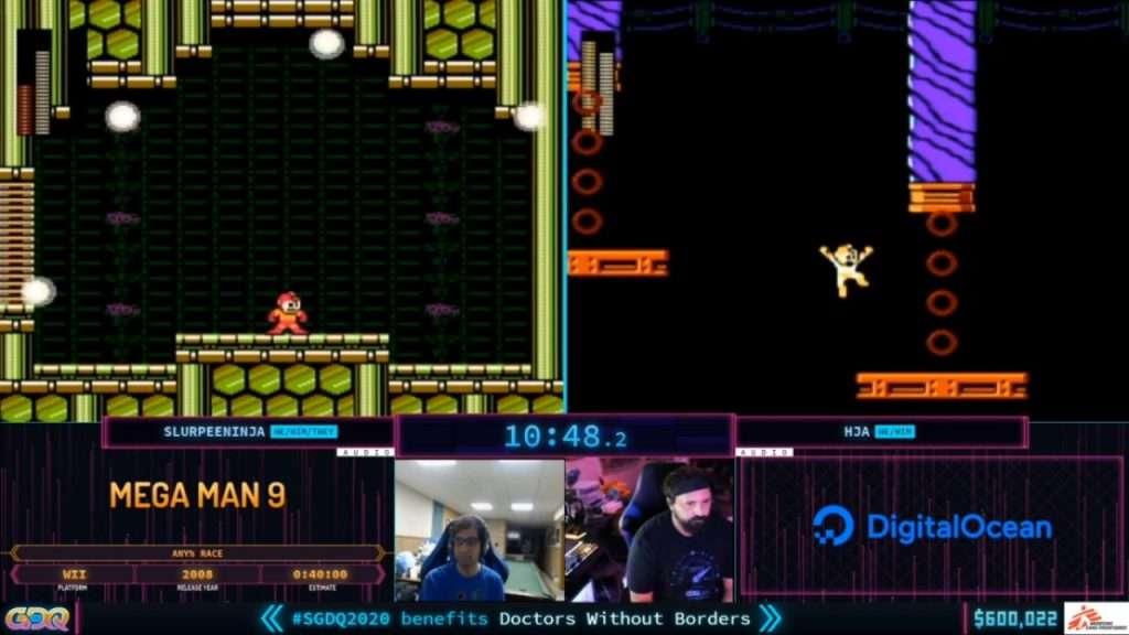 SGDQ 2020 Mega Man 9 Race