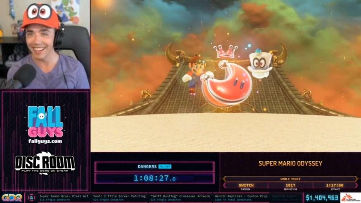 SGDQ 2020 Super Mario Odyssey