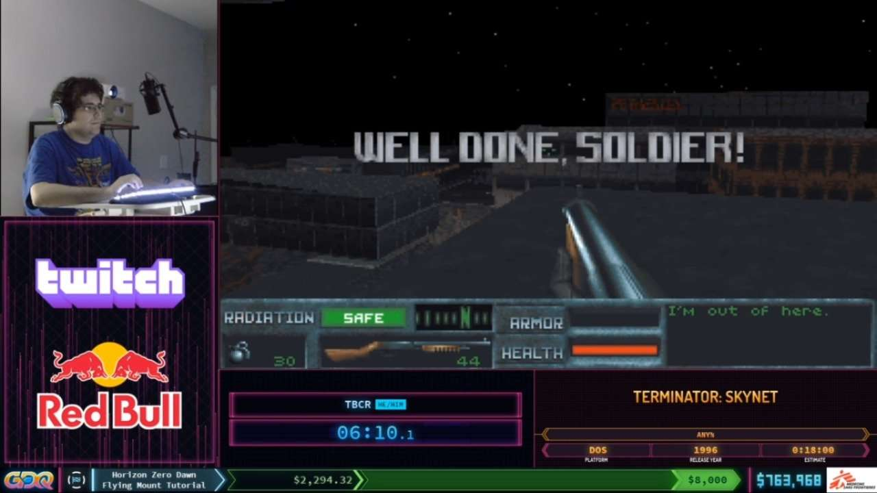 SGDQ 2020 Terminator Skynet