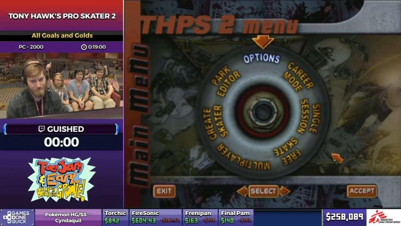 THPS 2 Title Screen