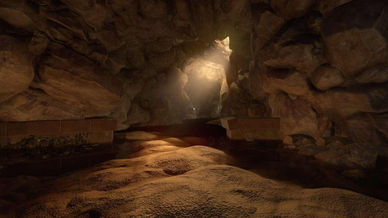 Amnesia Rebirth Cave Light