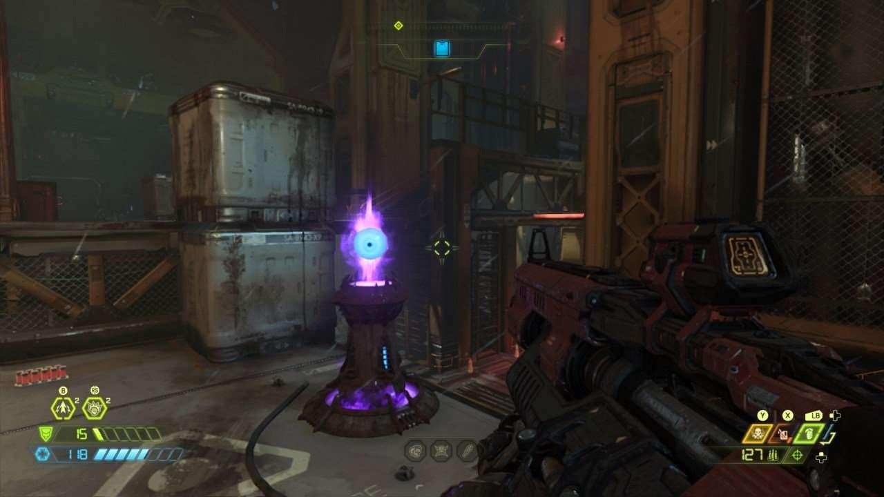 Doom Eternal Eyeball Turret