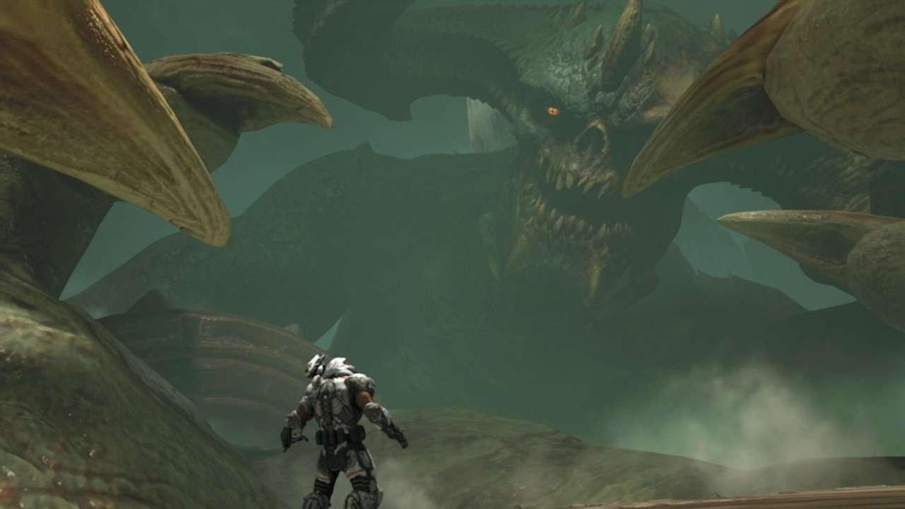 Doom Eternal Giant Demon