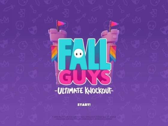 Fall Guys Season 2 Title Screen