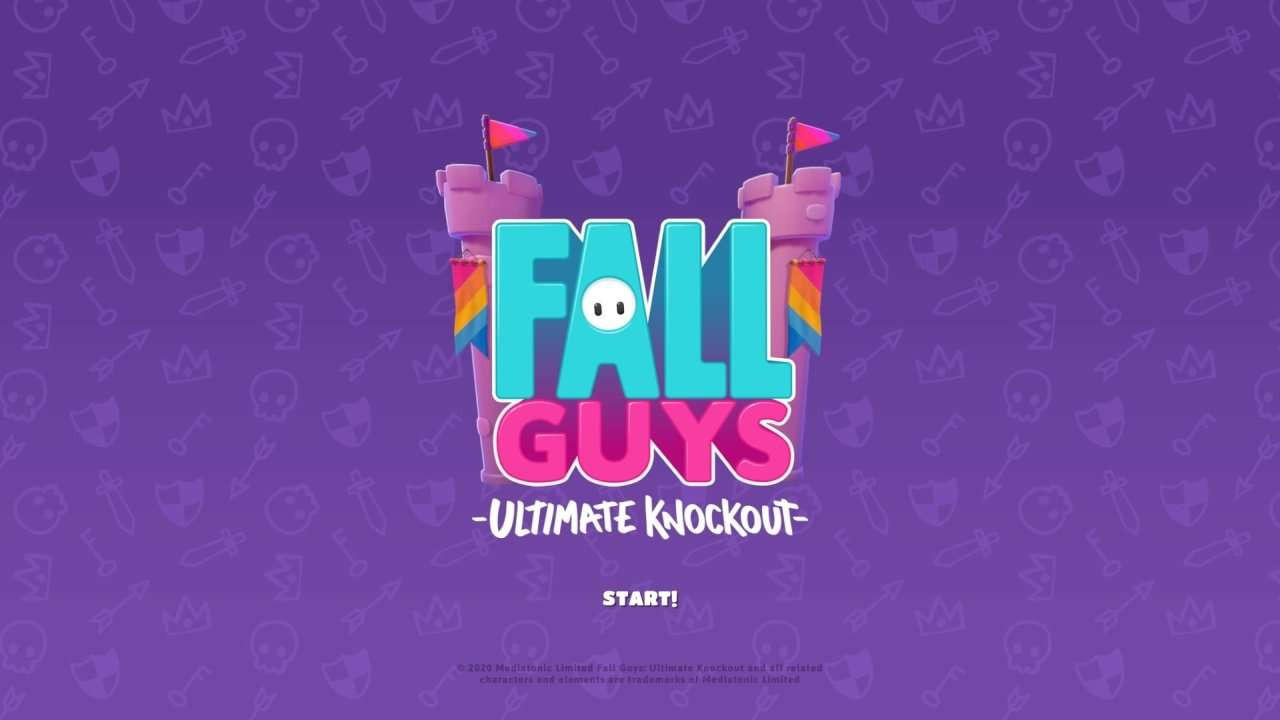 Fall Guys Season 2 Title Screen