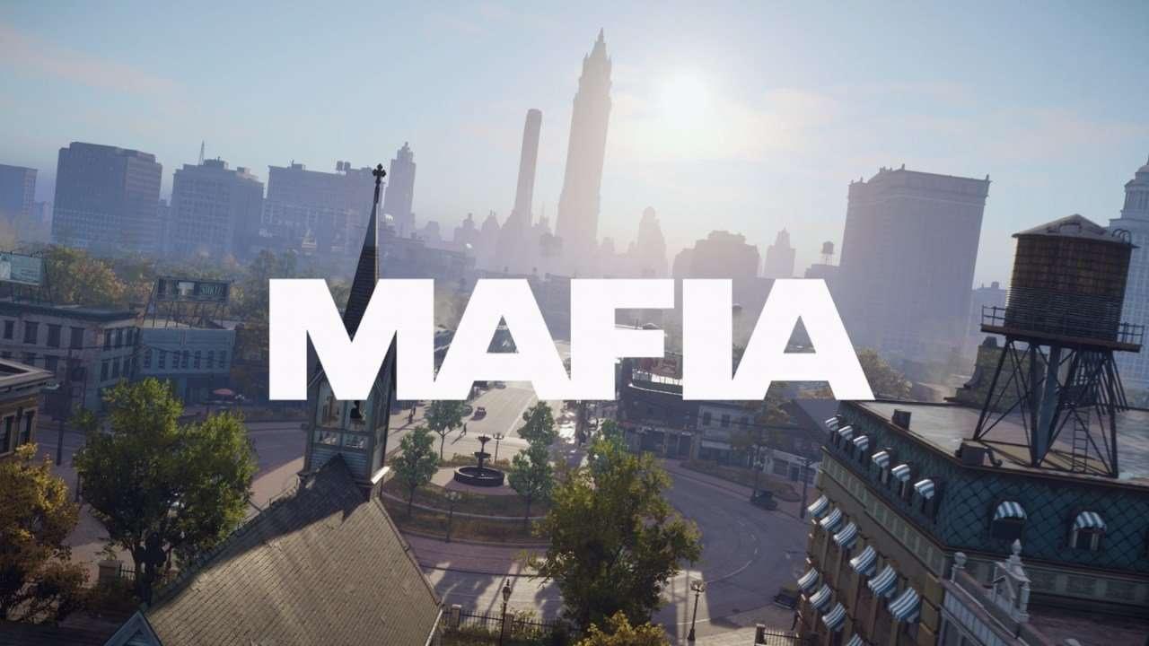Mafia Definitive Edition Title Screen