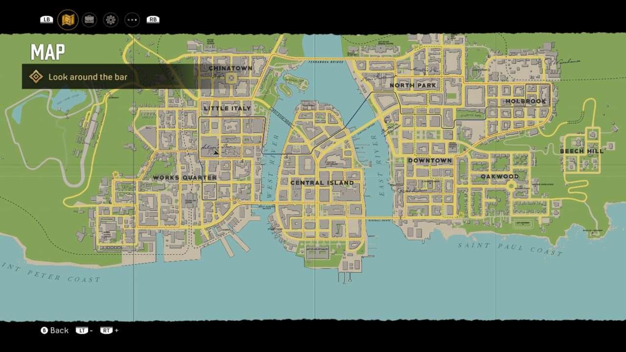 Mafia Lost Heaven Map