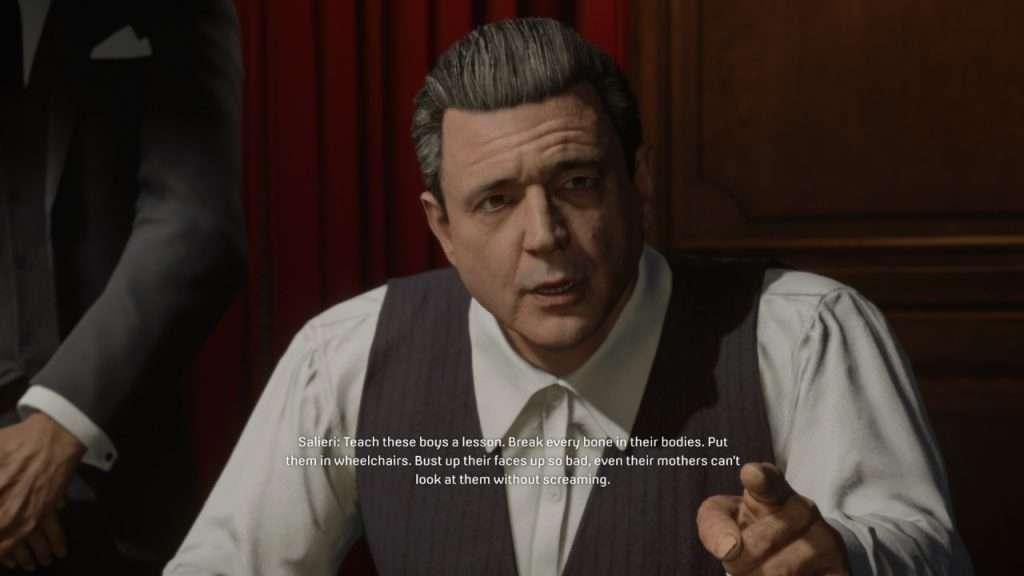 Mafia Salieri's Request