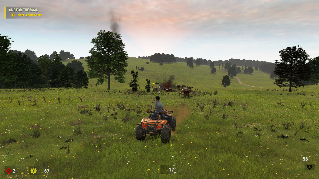 Serious Sam 4 ATV Buggy
