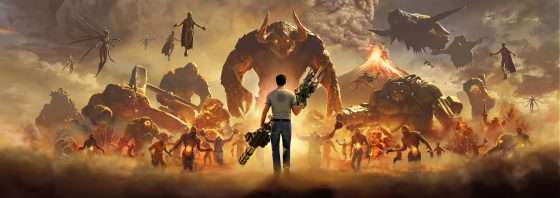 Serious Sam 4 key art