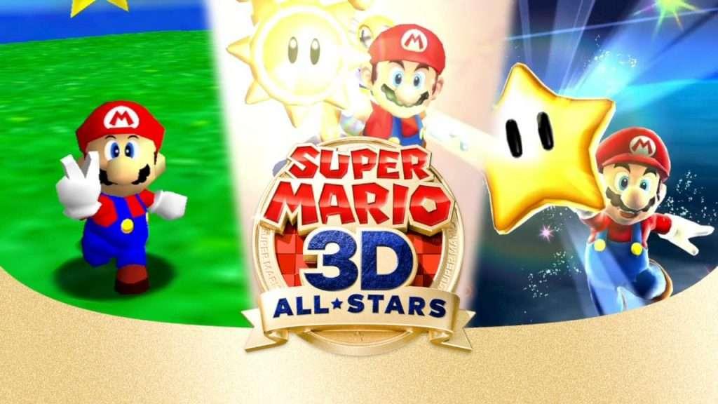 Super Mario 3D All-Stars Title