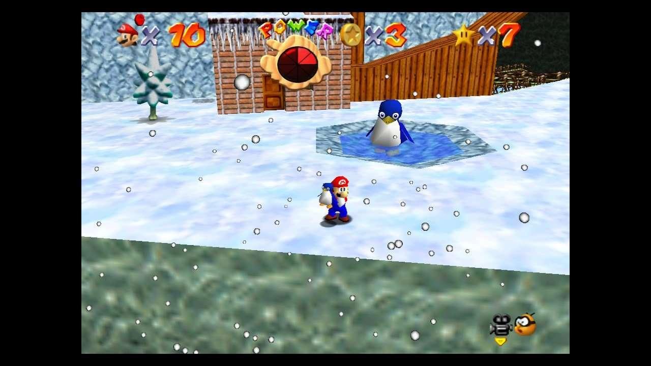 Super Mario 64 Baby Penguin