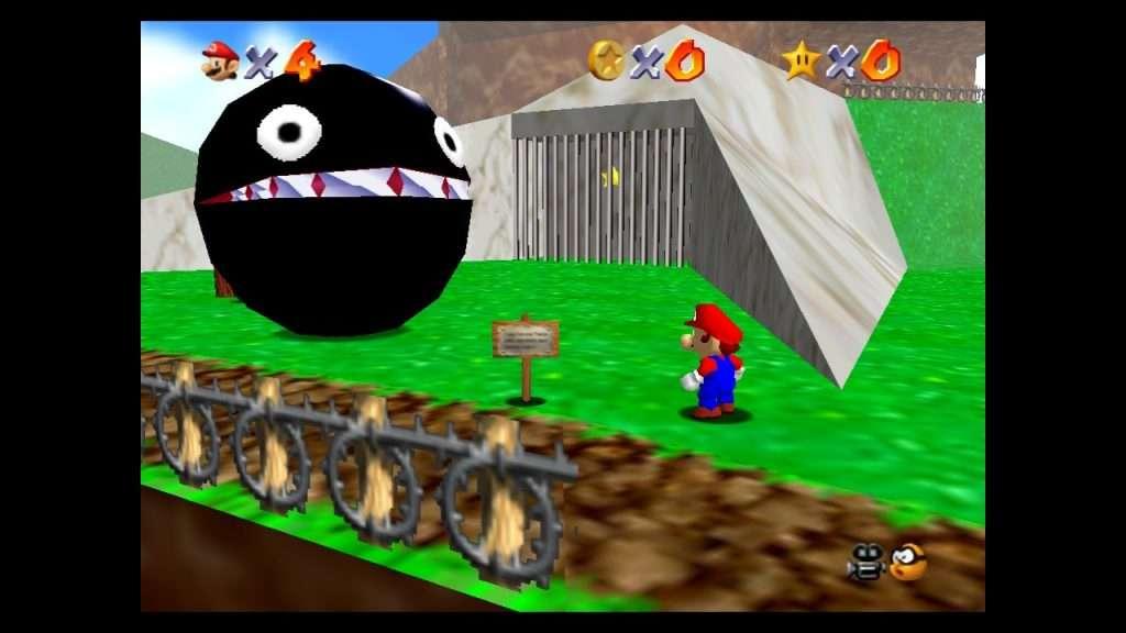 Super Mario 64 Chain Chomp