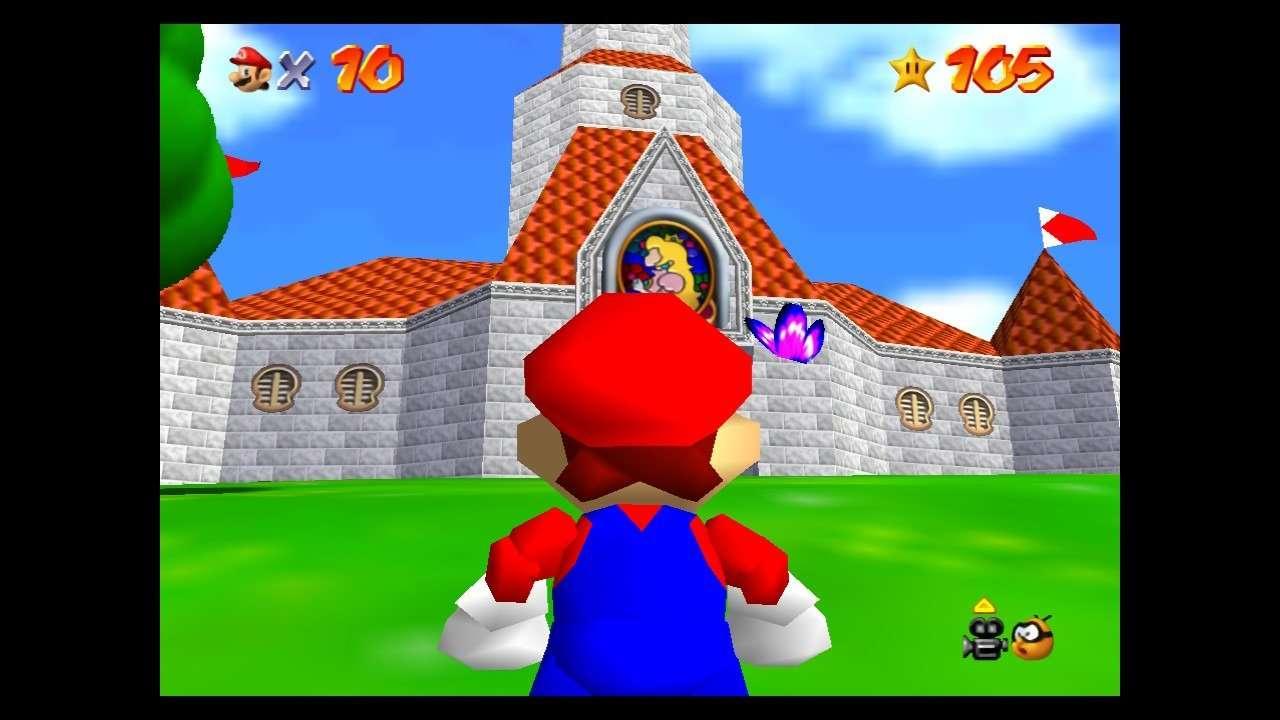 Super Mario 64 Peach's Castle