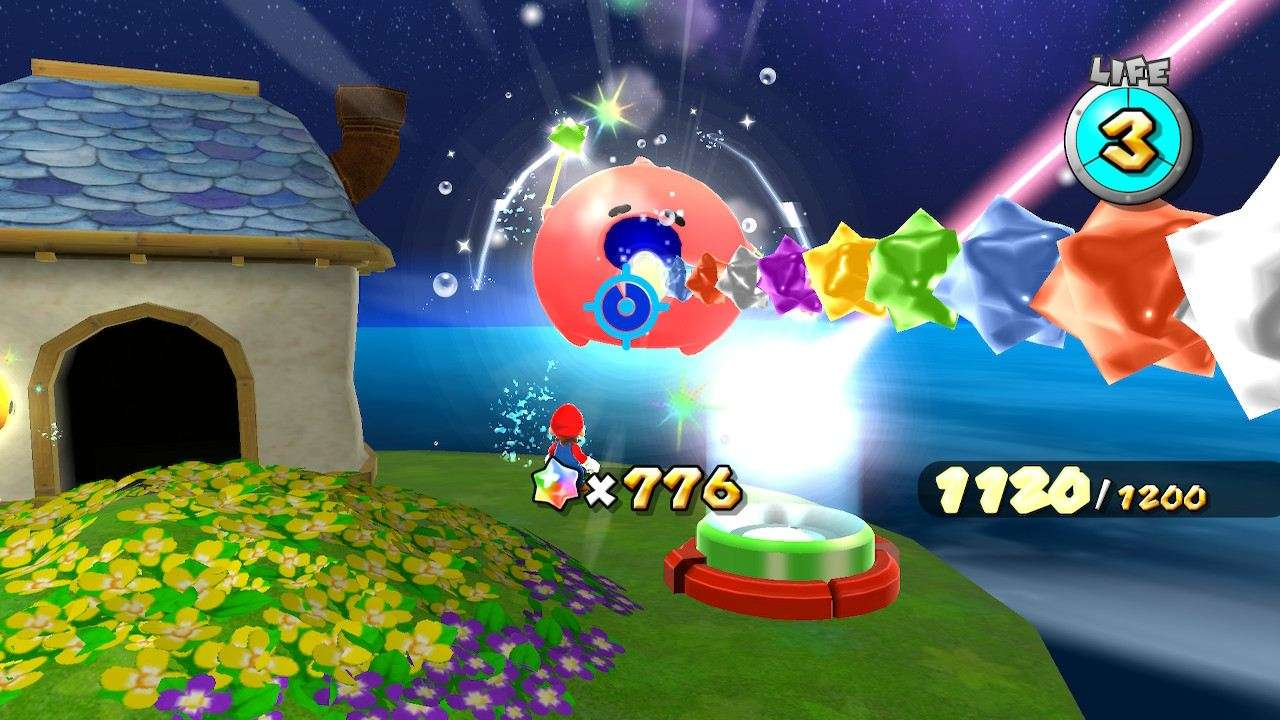 Super Mario Galaxy Feeding Luma