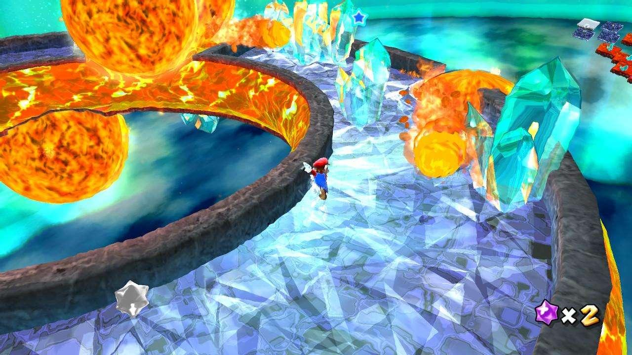 Super Mario Galaxy Freezeflame