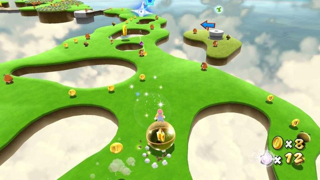 Super Mario Galaxy Rolling World