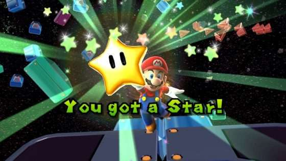 Super Mario Galaxy Star Pickup