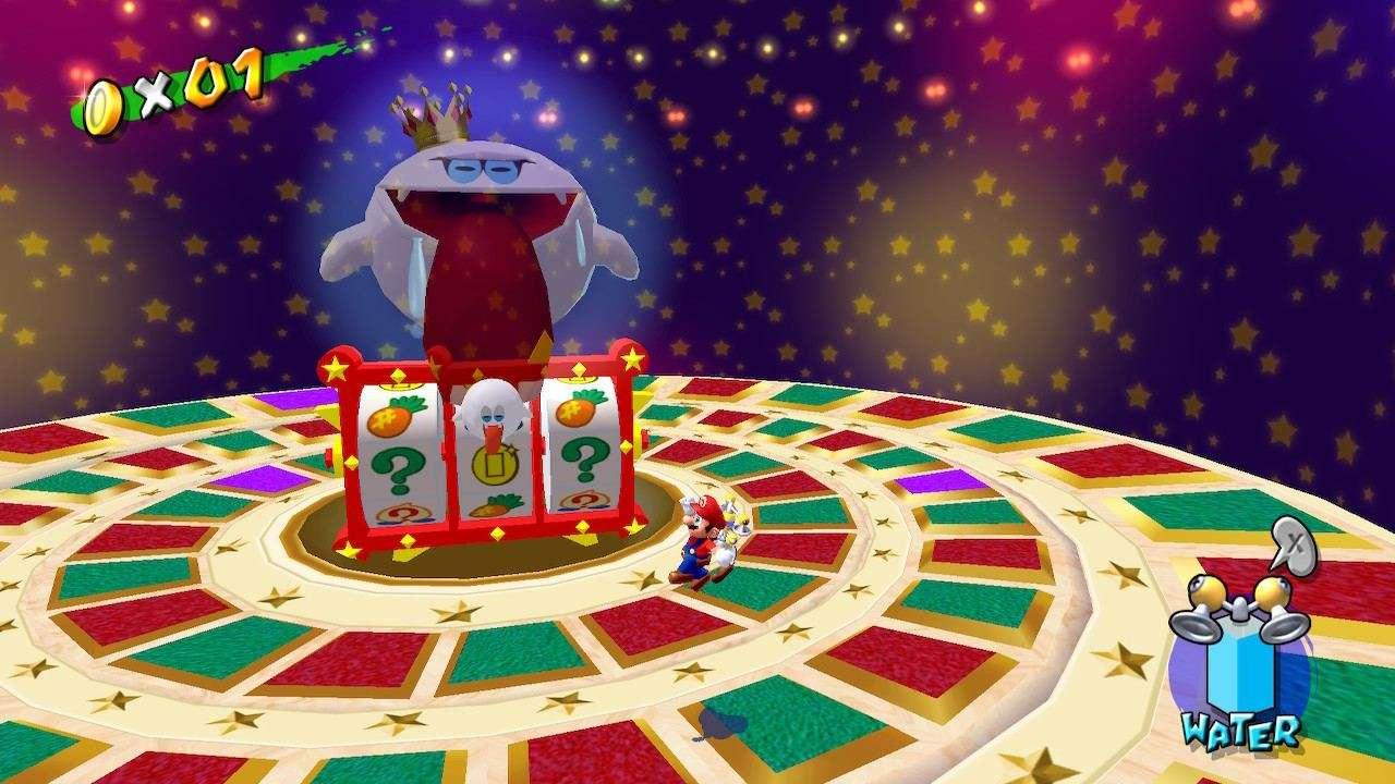 Super Mario Sunshine Boo Roulette