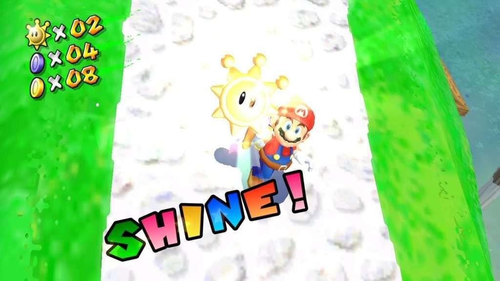 Super Mario Sunshine Shine Pickup