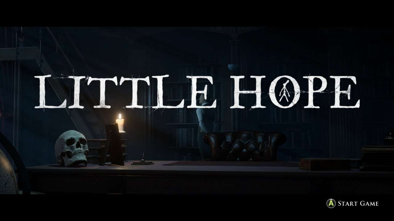 Little Hope Start Screen