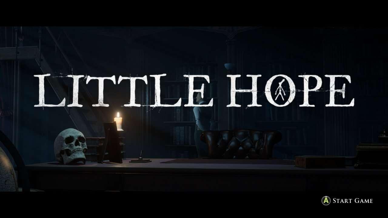 Little Hope Start Screen