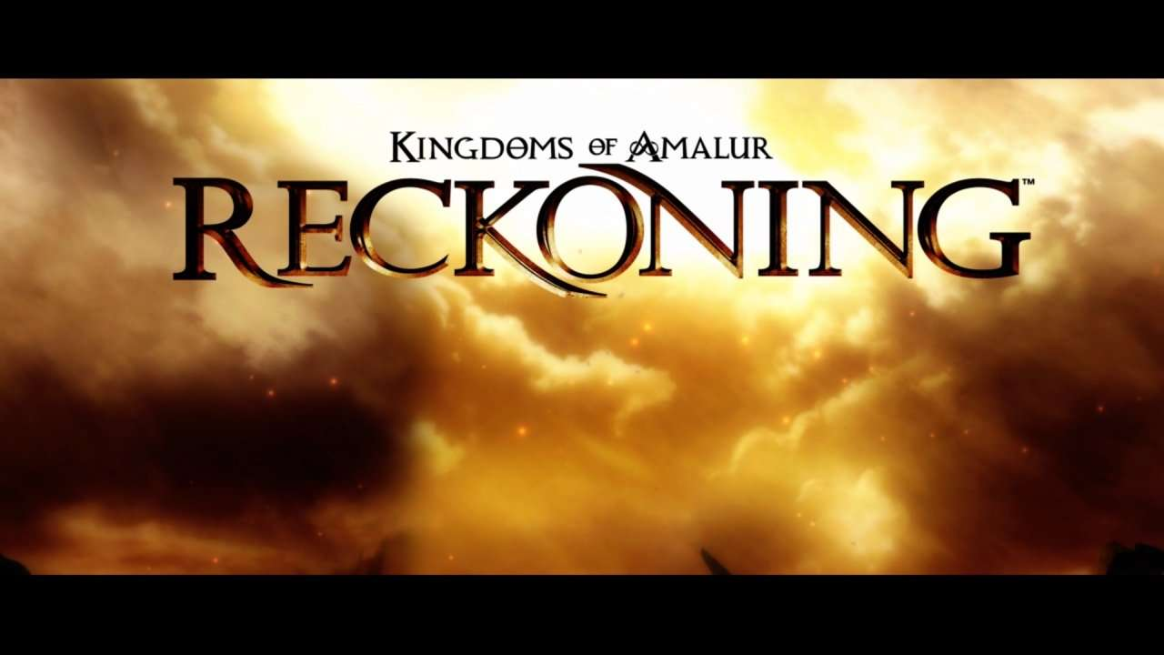 Kingdoms of Amalur Title Screen