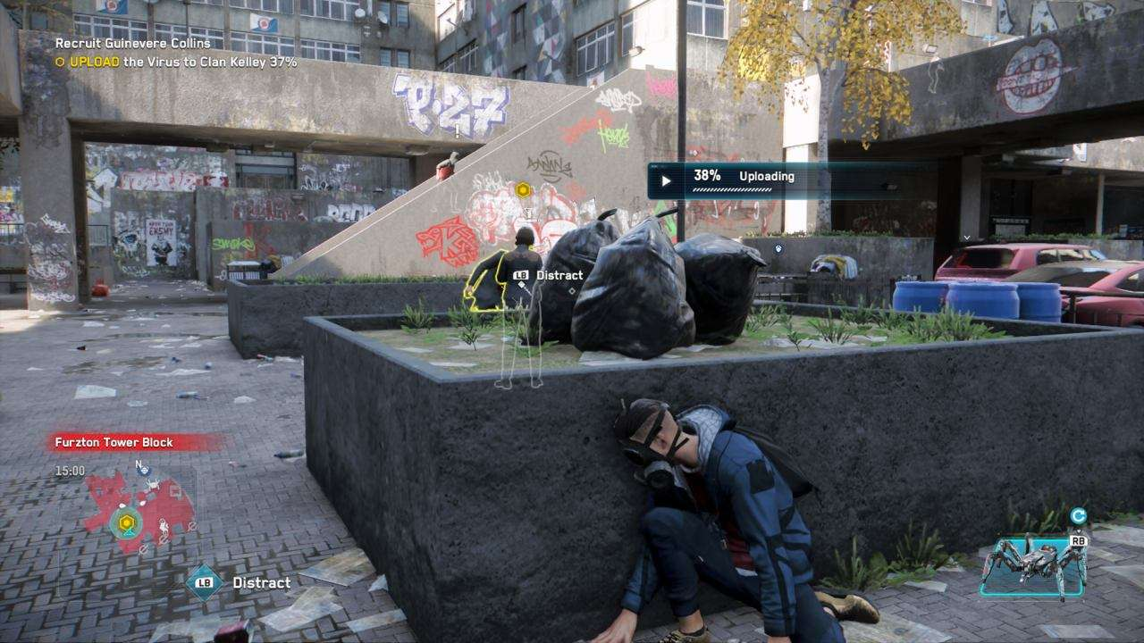 Watch Dogs Legion Basic Hacking