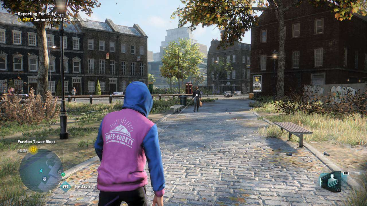 Watch Dogs Legion Park